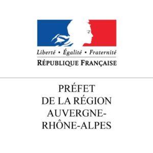 Logo de la Préfecture de la Région Auvergne Rhône Alpes
